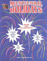 Multicultural Holidays PDF