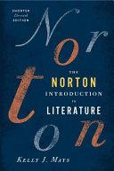 The Norton Introduction To Literature Book PDF