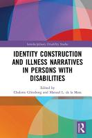 Identity Construction and Illness Narratives in Persons with Disabilities PDF