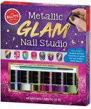 Metallic Glam Nail Studio Book