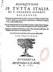 Descrittione di tutta Italia...