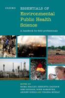 Essentials of Environmental Public Health Science PDF