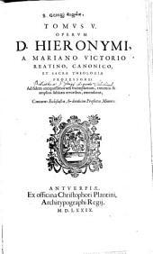 Opera: Continens Ecclesiasten, & duodecim Prophetas Minores, Volume 5