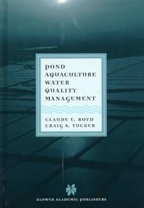 Pond Aquaculture Water Quality Management Book