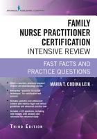 Family Nurse Practitioner Certification Intensive Review  Third Edition PDF