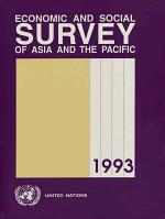 Economic and Social Survey of Asia and the Pacific 1993