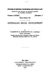 Australian Social Development: Volume 81, Issue 2