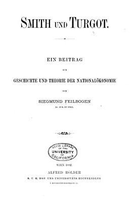 Smith und Turgot PDF