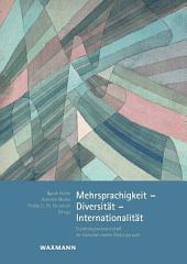 Mehrsprachigkeit - Diversität - Internationalität: Erziehungswissenschaft im transnationalen Bildungsraum