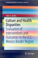 Culture and Health Disparities PDF