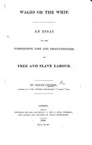 Wages Or the Whip Book