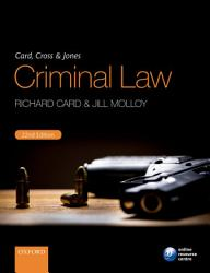 Card Cross Jones Criminal Law Book PDF
