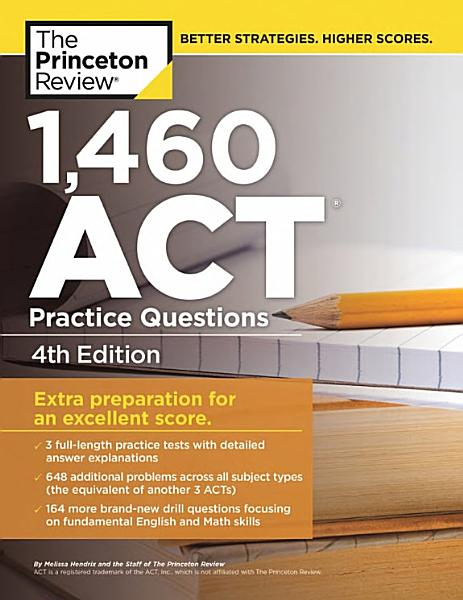 1 460 ACT Practice Questions