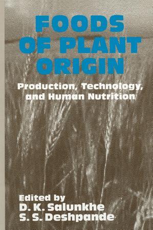 Foods of Plant Origin PDF