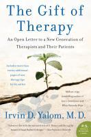 The Gift of Therapy PDF
