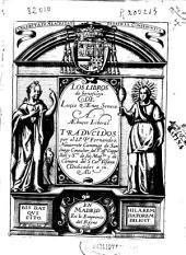 Los libros de beneficiis de Luçio Aeneo Seneca a Aebuçio Liberal