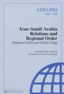 Iran Saudi Arabia Relations and Regional Order PDF