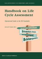 Handbook on Life Cycle Assessment PDF