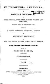 Encyclopædia americana: Volume 2