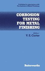 Corrosion Testing for Metal Finishing