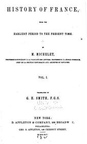 History of France: From the Earliest Period to the Present Time, Volume 1