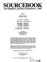 Sourcebook of Criminal Justice Statistics PDF