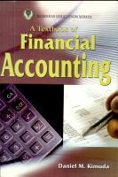 A Textbook of Financial Accounting PDF