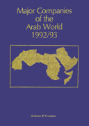 Major Companies of the Arab World 1992 93