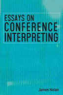 Essays on Conference Interpreting