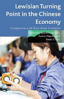 Lewisian Turning Point in the Chinese Economy PDF