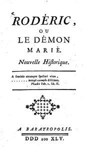 Roderic, ou le Démon marié, nouvelle historique