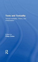 Texts and Textuality PDF