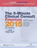 The 5-Minute Clinical Consult Premium 2015