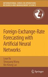 Foreign-Exchange-Rate Forecasting with Artificial Neural Networks