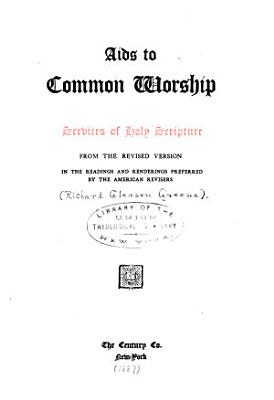 Aids to Common Worship