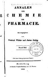 Justus Liebig's Annalen der Chemie: Bände 41-42