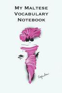My Maltese Vocabulary Notebook