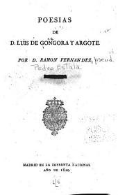 Poesías de D. Luis de Góngora y Argote