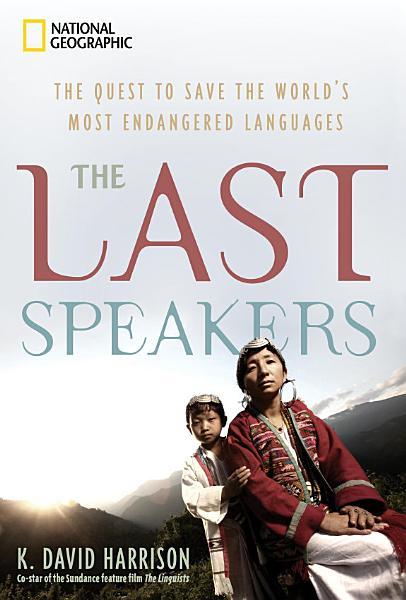 Download The Last Speakers Book