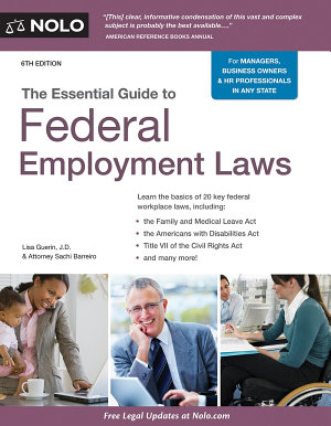 The Essential Guide to Federal Employment Laws PDF