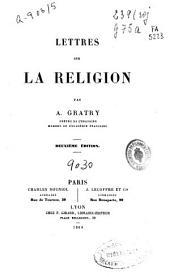 Lettres sur la religion