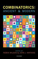 Combinatorics  Ancient   Modern PDF
