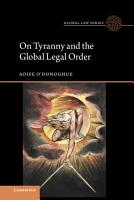 On Tyranny and the Global Legal Order PDF