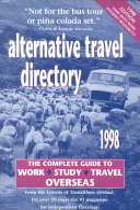 Alternative Travel Directory  1998 PDF