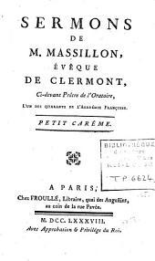Sermons: Petit Carême