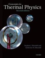 Concepts in Thermal Physics PDF