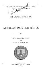 The Chemical Composition of American Food Materials