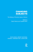 Changing Subjects PDF