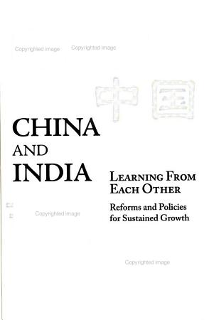 China and India Learning from Each Other PDF