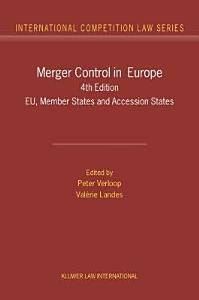 Merger Control in Europe PDF